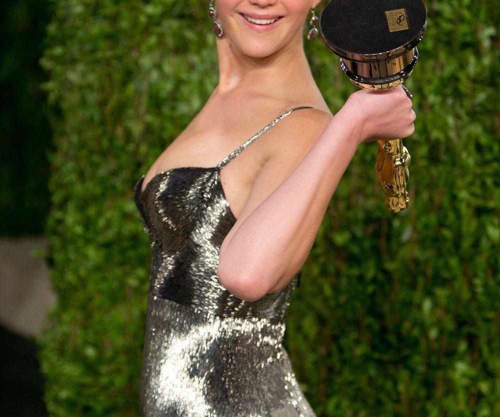 Jennifer Lawrence: Oscar verschenkt!