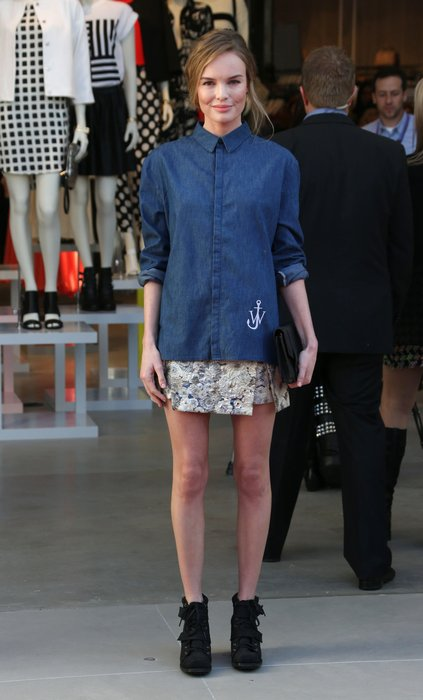Kate Bosworth mit Jeanshemd