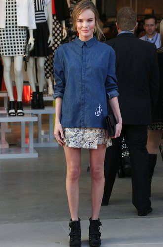 Kate Bosworth mit Jeanshemd