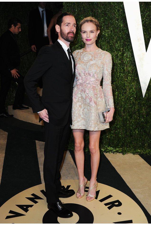 Kate Bosworth mit ihrem Verlobten Michael Polish