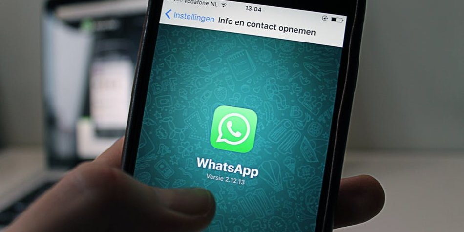 WhatsApp auf einem Handy