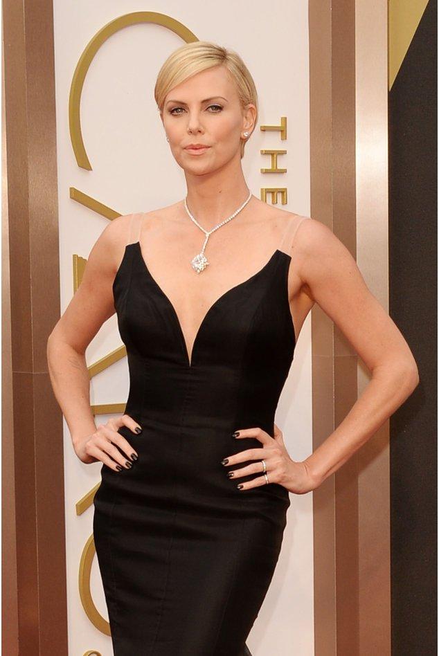Charlize Theron beim Oscar