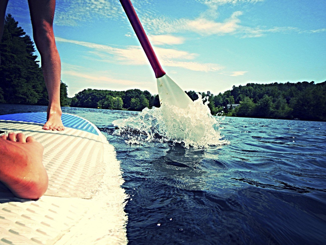 stand up paddling lernen