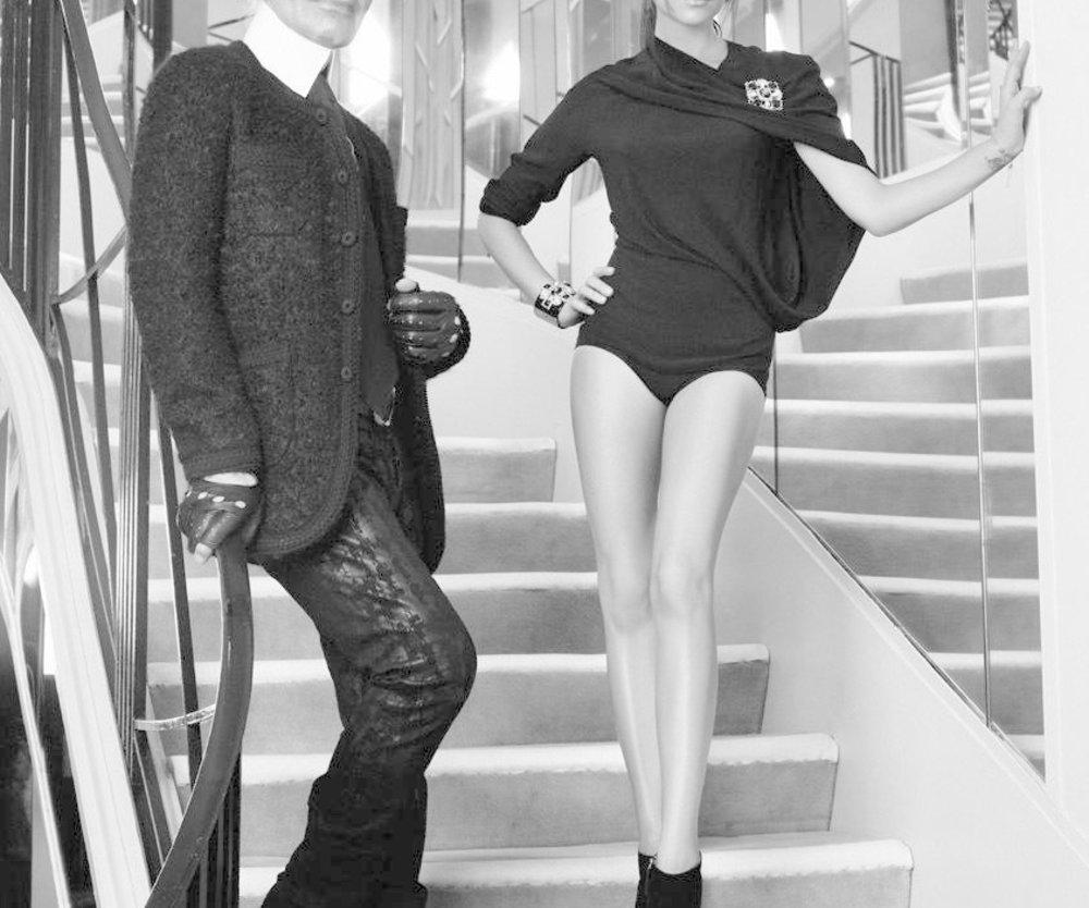 Victoria Beckham und Karl Lagerfeld: Gemeinsames Cover-Shooting