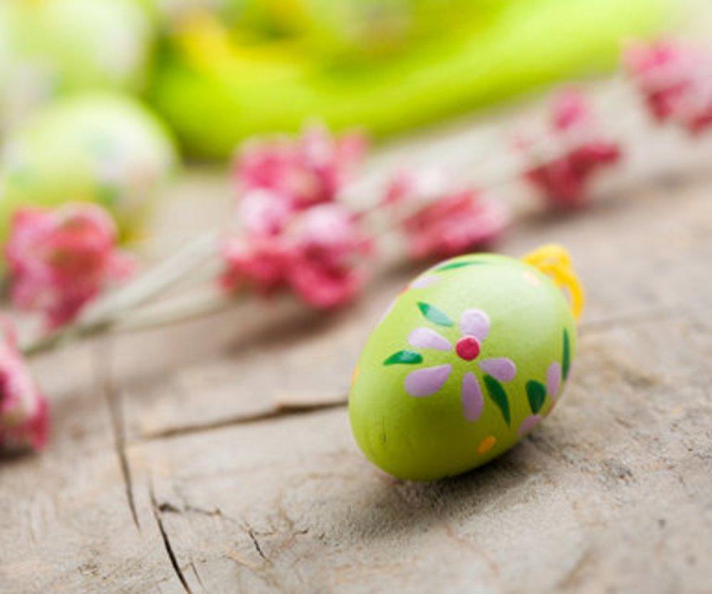Für Ostern dekorieren