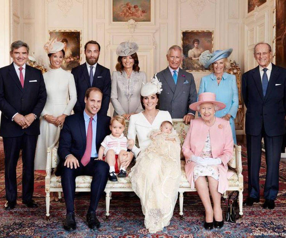Offizielle Taufbilder von Prinzessin Charlotte veröffentlicht