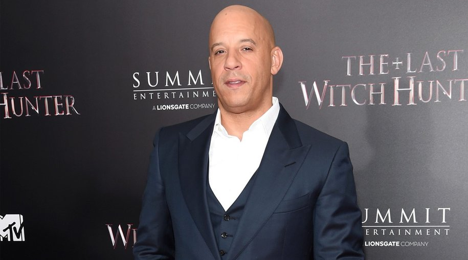 """NEW YORK, NY - OCTOBER 13: Actor Vin Diesel attends the New York premiere of """"The Last Witch Hunter"""" at AMC Loews Lincoln Square on October 13, 2015 in New York City. (Photo by Jamie McCarthy/Getty Images)"""