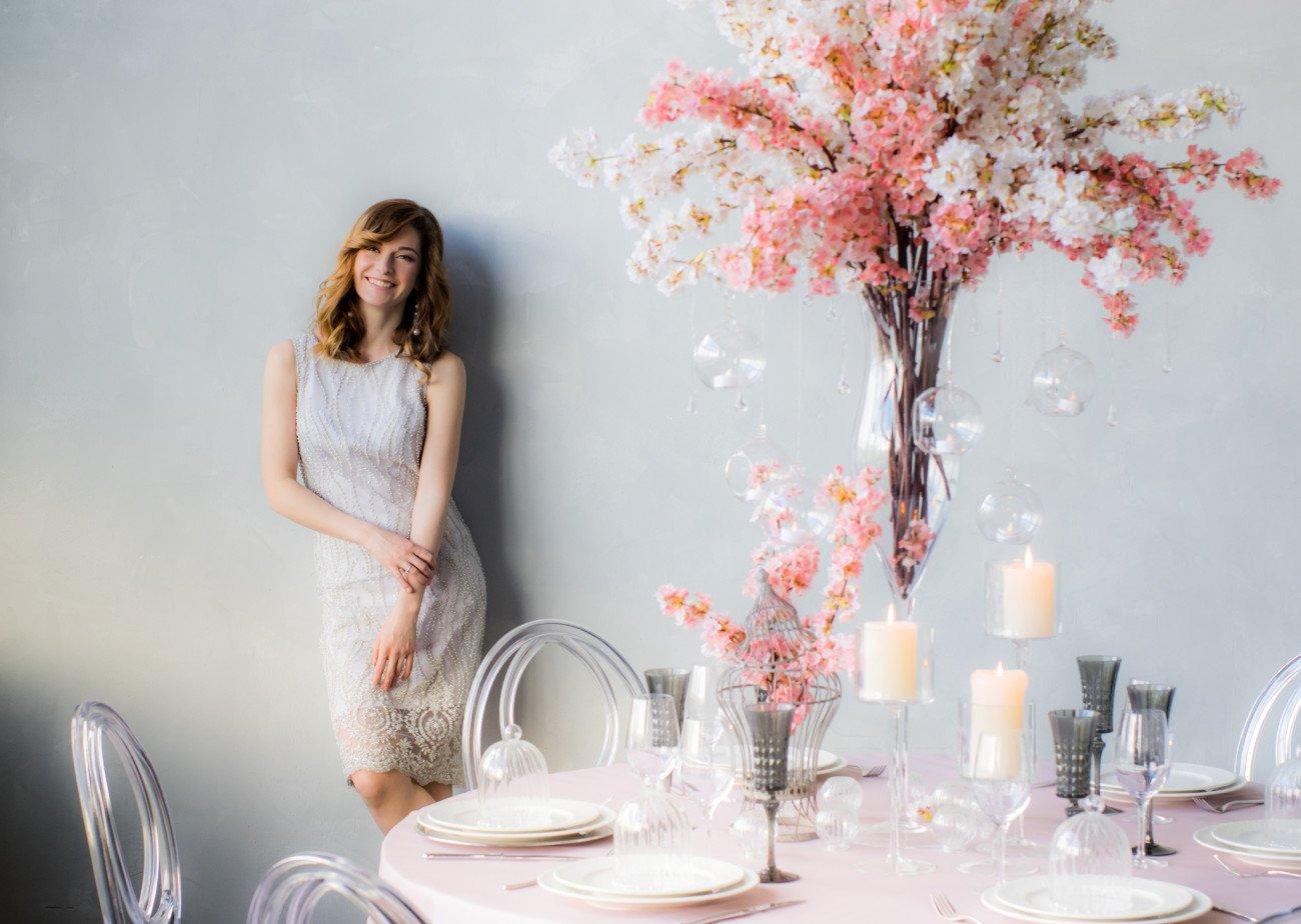 Tischdeko für Hochzeit selber machen