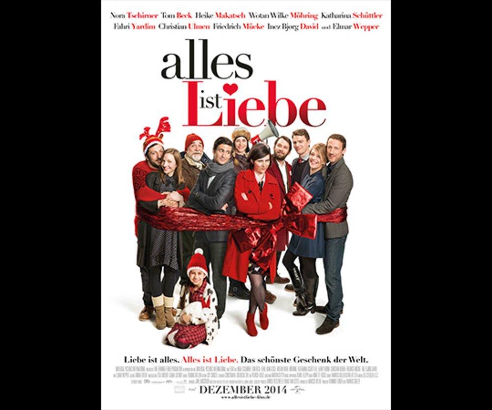 "Filmplakat ""Alles ist Liebe"""