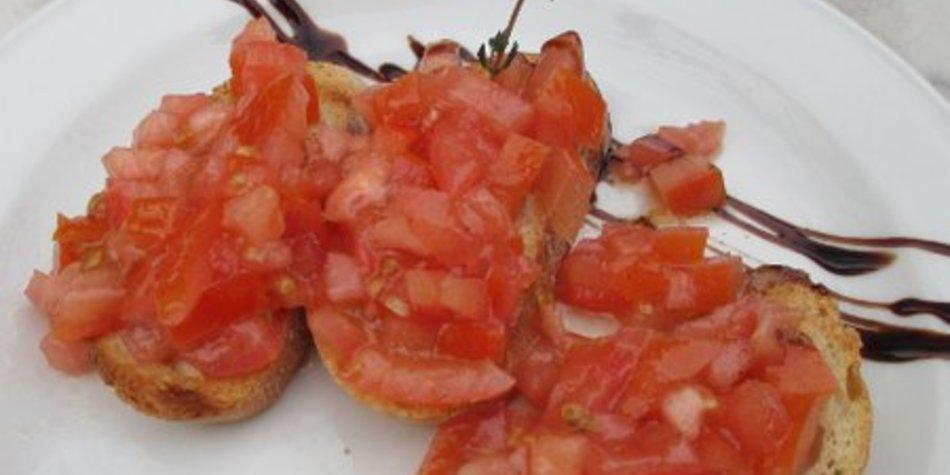 Tomaten Bruscetta