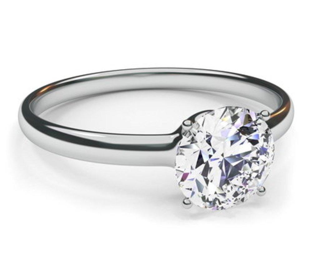 Verlobungsring 1: Der Diamant