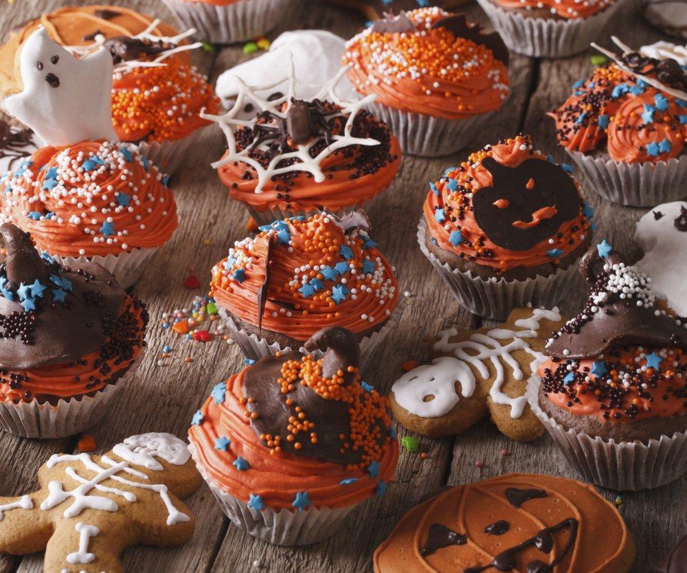 Halloween-Muffins