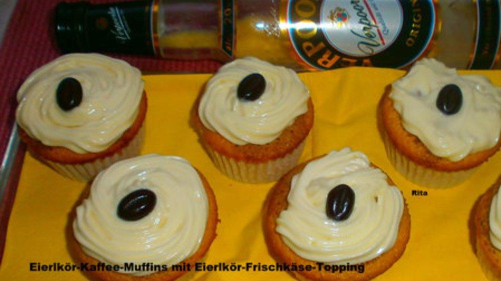 VERPOORTEN ORIGINAL Eierlikör-Kaffee-Muffins mit Eierlkiör Topping