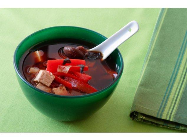 Miso-Suppe servierfertig