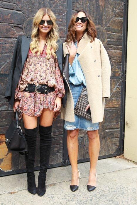 Elle Ferguson und Tash Sefton bei der Australian Fashion Week