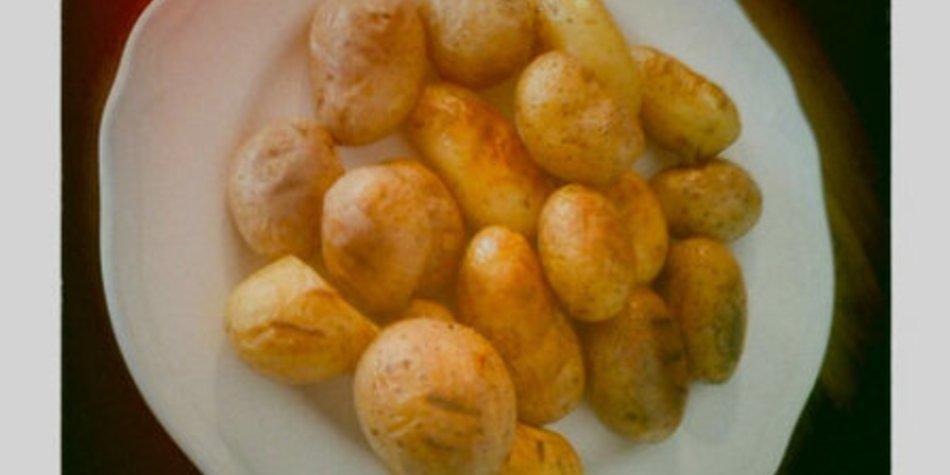 Schnelle Minikartofflen vom Grill