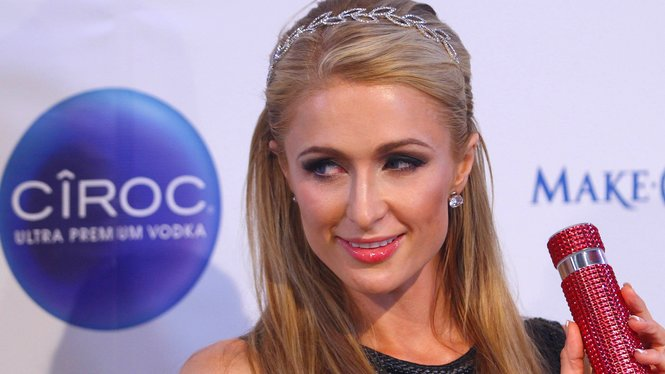 US socialite Paris Hilton poses during a promotional event of her cosmetics brand in Rancagua, some 60 km south of Santiago on November 20, 2015. AFP PHOTO/JORGE AMENGUAL (Photo credit should read JORGE AMENGUAL/AFP/Getty Images)