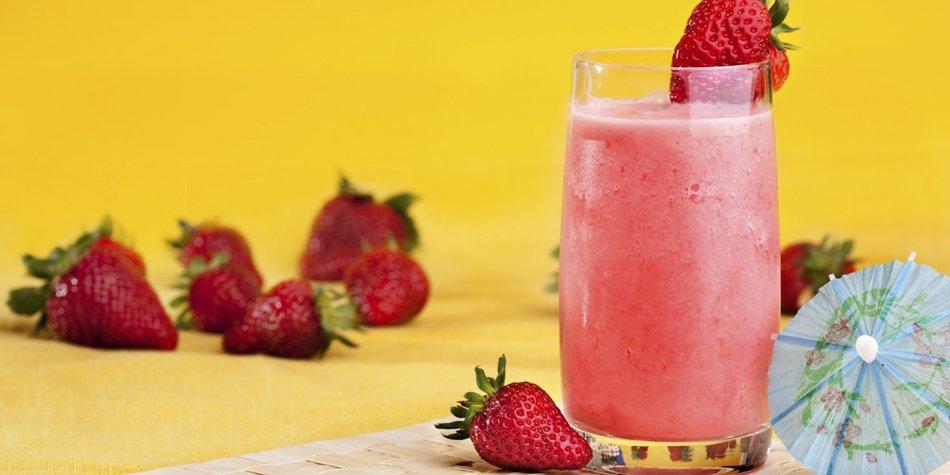 Erdbeer Wine Slushie