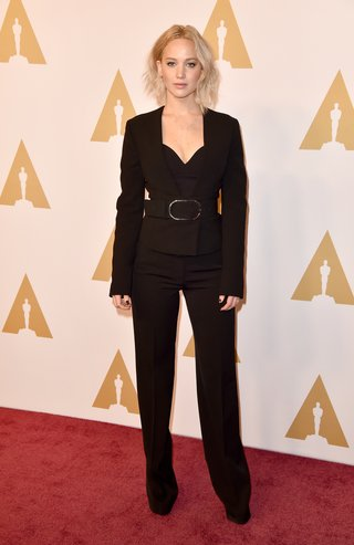 attends the 88th Annual Academy Awards nominee luncheon on February 8, 2016 in Beverly Hills, California.