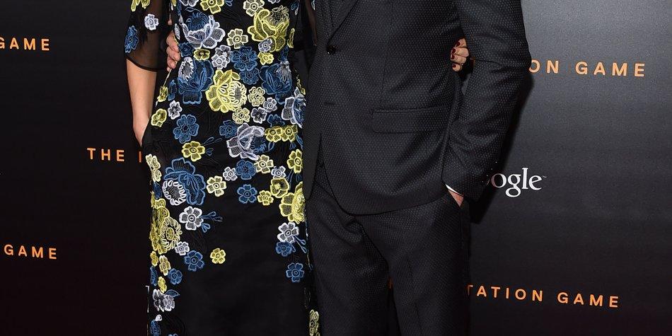 Benedict Cumberbatch: 1. Auftritt als Ehemann in spe