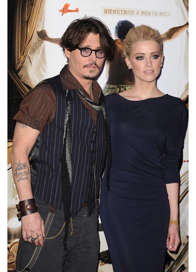 Johnny Depp und Amber Heard: Ein Traumpaar