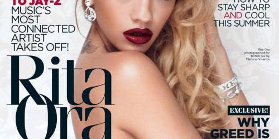Rita Ora: Sexy auf der GQ!