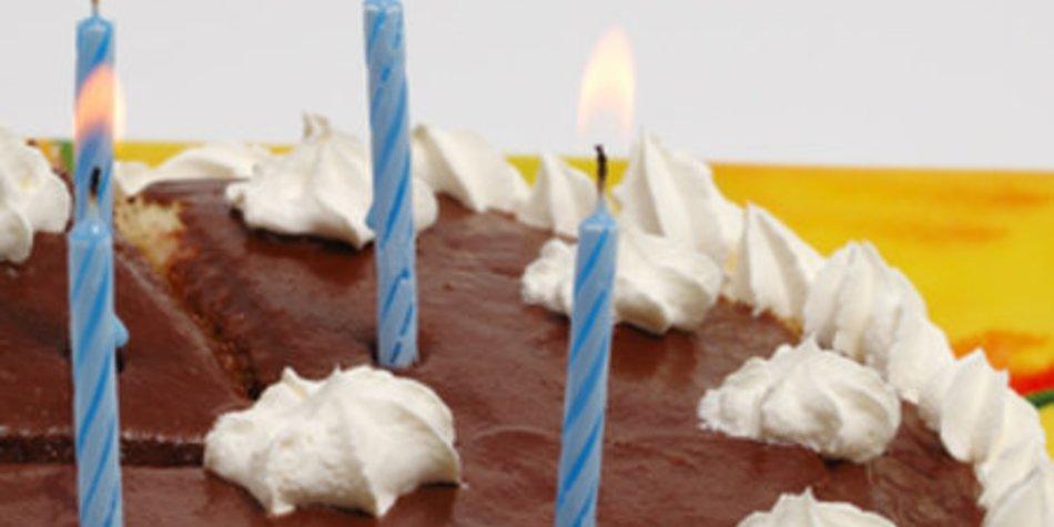 Schokoladige Geburtstagstorte