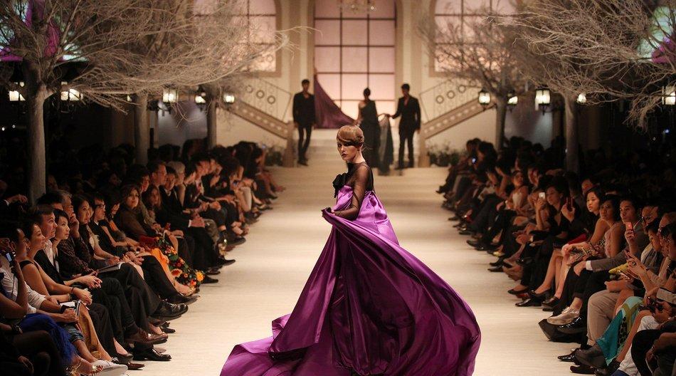 Stéphane Rolland auf der Fashion Week in Paris