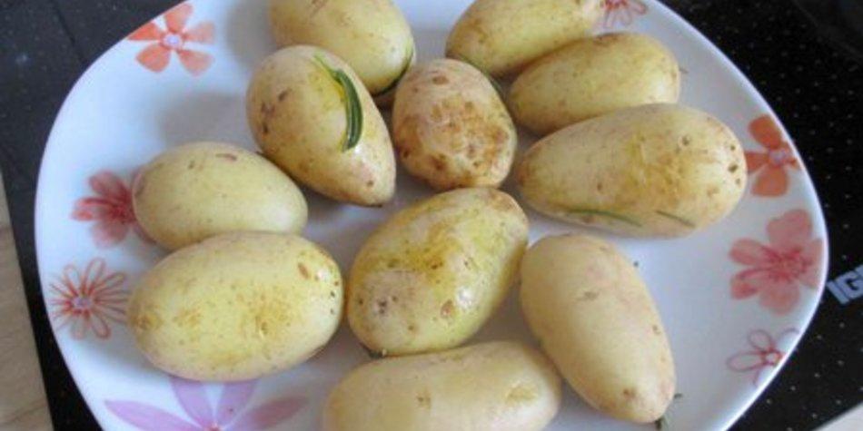 Rosmarinkartoffeln mit Meersalz