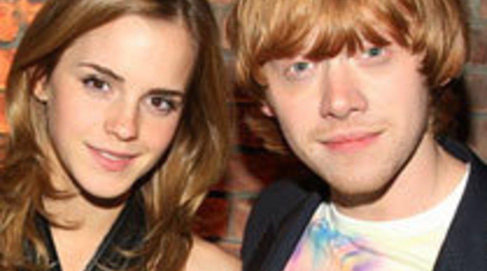 Harry Potter: Rupert Grints und Emma Watsons Kuss