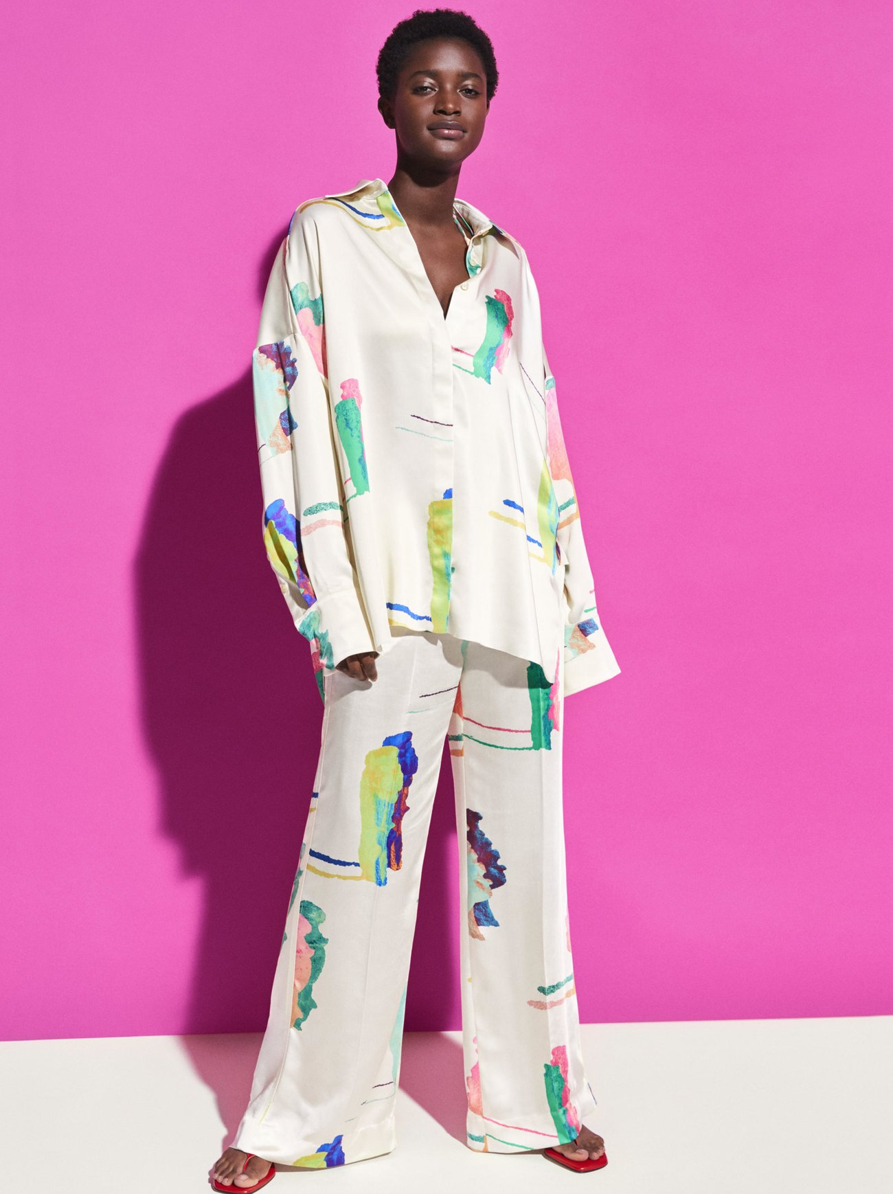Silk Pyjama H&M Studio Collection
