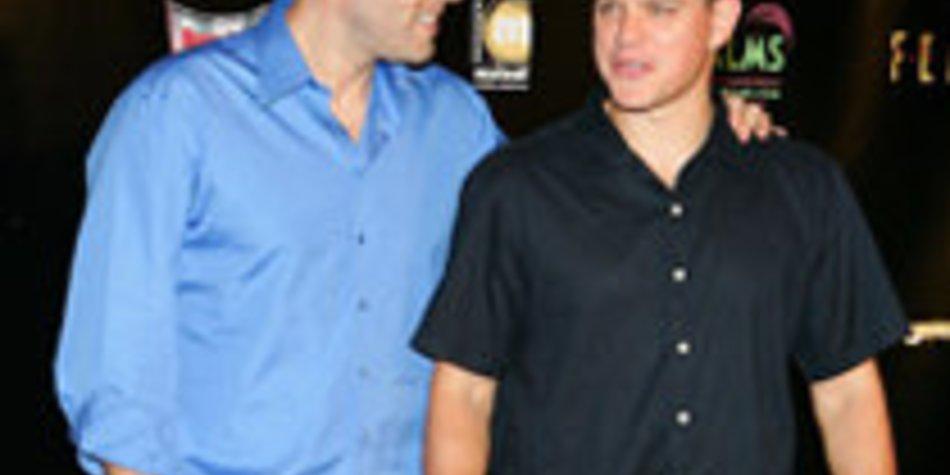 Matt Damon und Ben Affleck: gemeinsames Filmprojekt