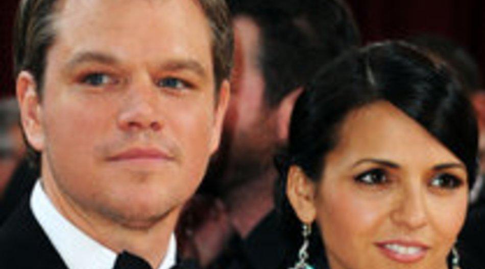 Matt Damon wird wieder Vater!