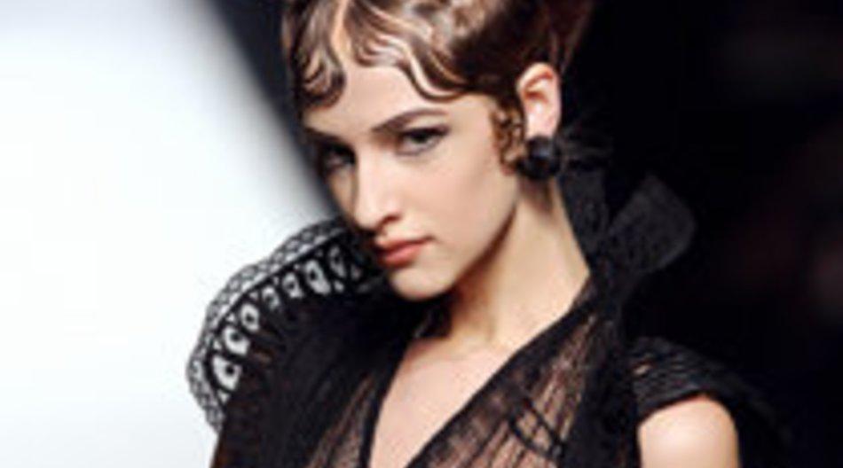Gaultier und Valentino auf der Fashion Week Paris