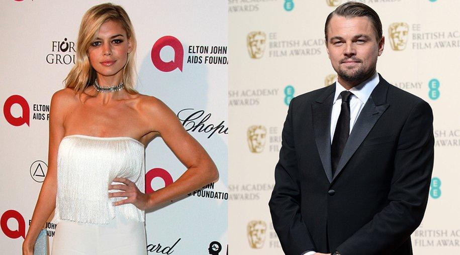 Kelly Rohrbach und Leonardo DiCaprio