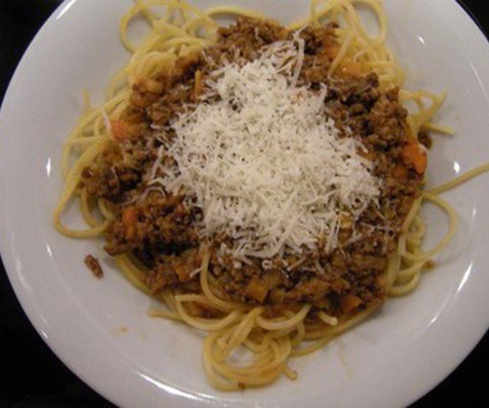 Leckere Spaghetti Bolognese