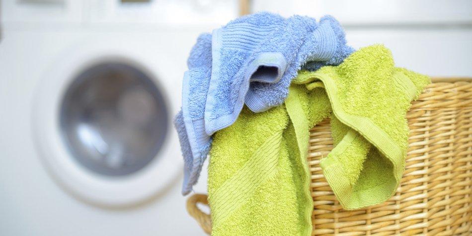 Handtücher waschen