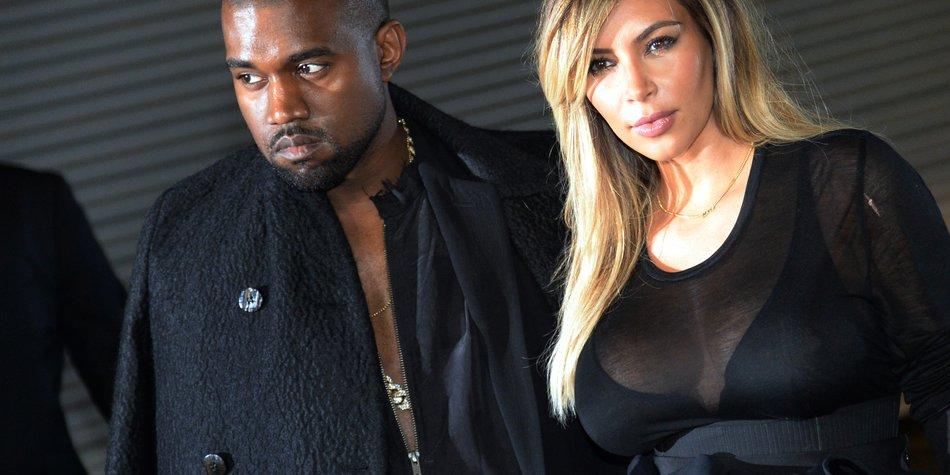 Kanye West und Kim Kardashian: Auszeit nach der Trauung?