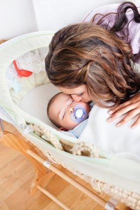 Baby zur Ruhe bringen