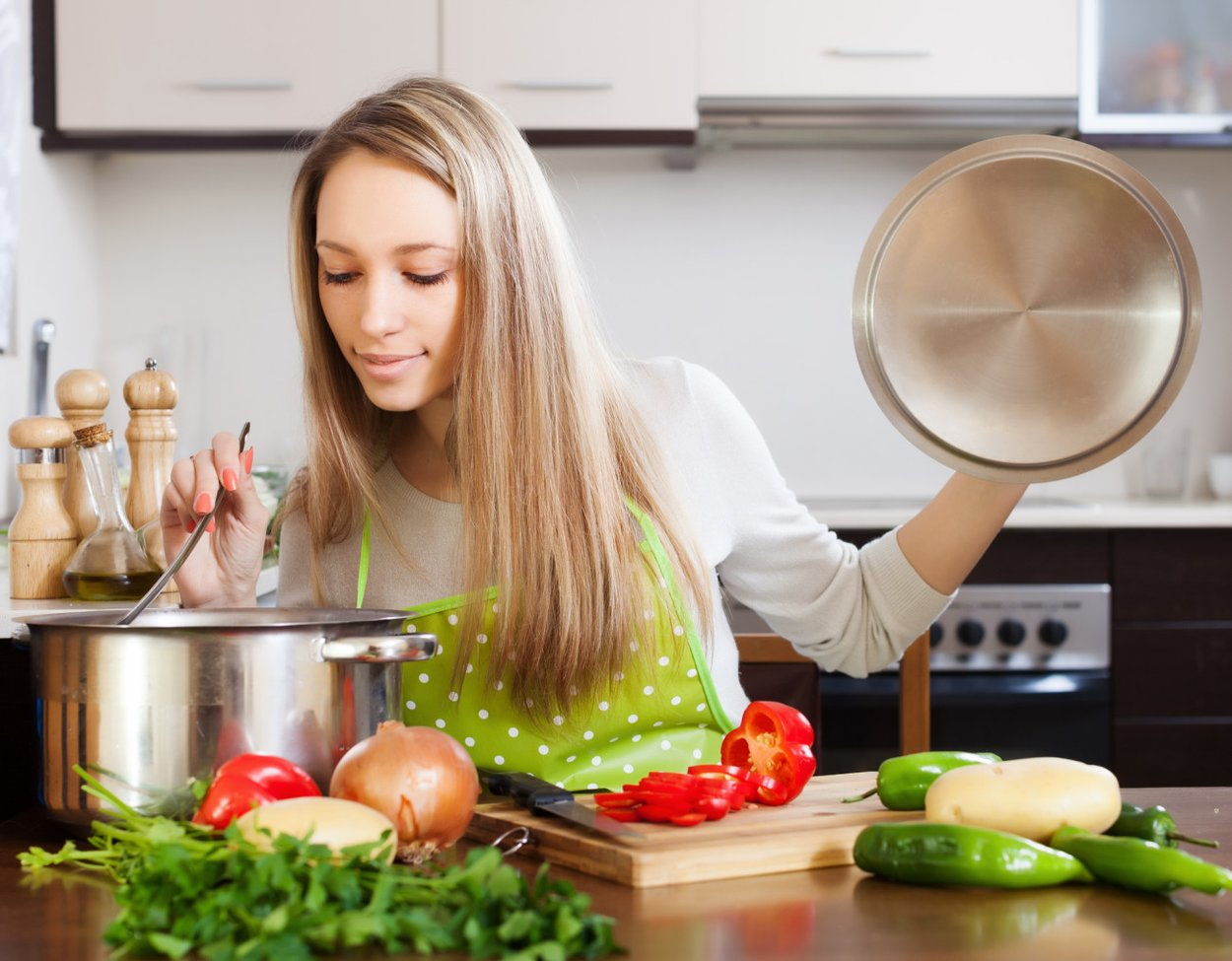 Kohlsuppe kochen