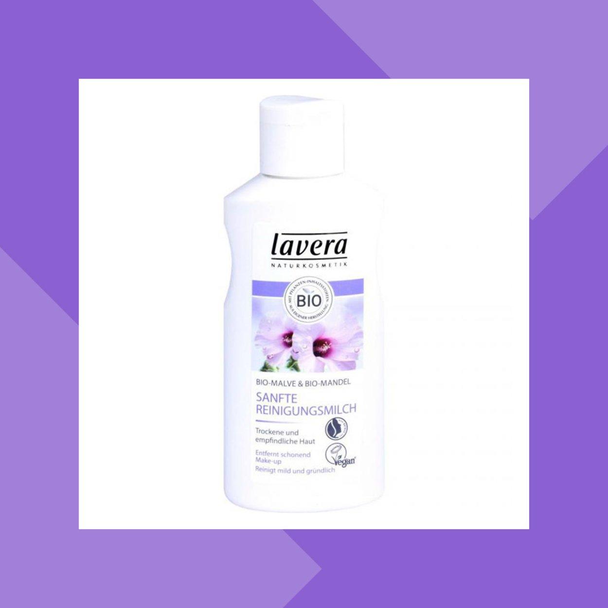 Sanfte Reinigungsmilch von Lavera
