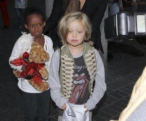 Angelina Jolie reist mit Töchtern