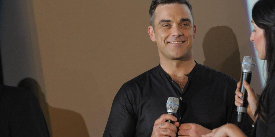 Robbie Williams freut sich auf seine Tochter