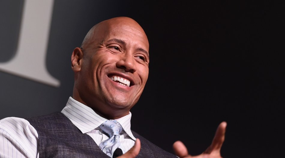 "speaks onstage during the Fast Company Innovation Festival - The Next Intersection For Hollywood with William Morris Endeavor's Ari Emanuel, Patrick Whitesell and Dwayne ""The Rock"" Johnson on November 9, 2015 in New York City."
