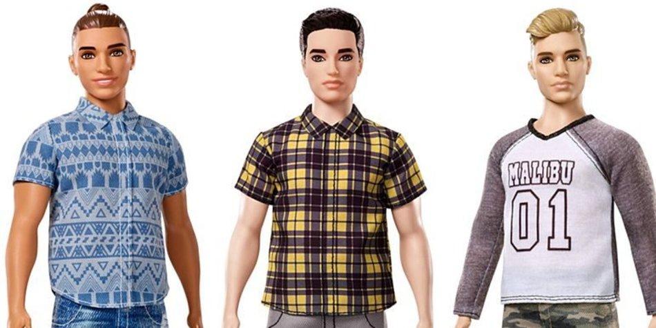 Neuer Ken mit Man Bun