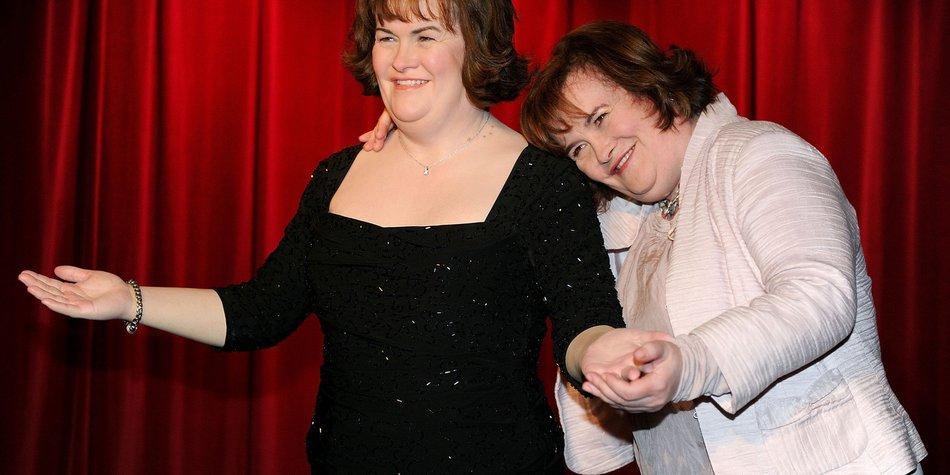 Susan Boyle: Wachs-Double bekommen!