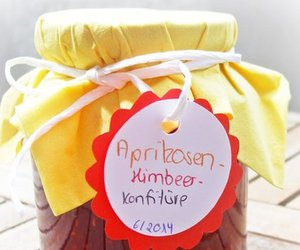 Aprikosen-Himbeer-Konfitüre