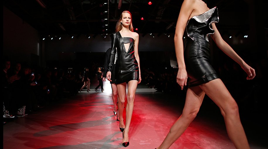 Paris Fashion Week: Leder