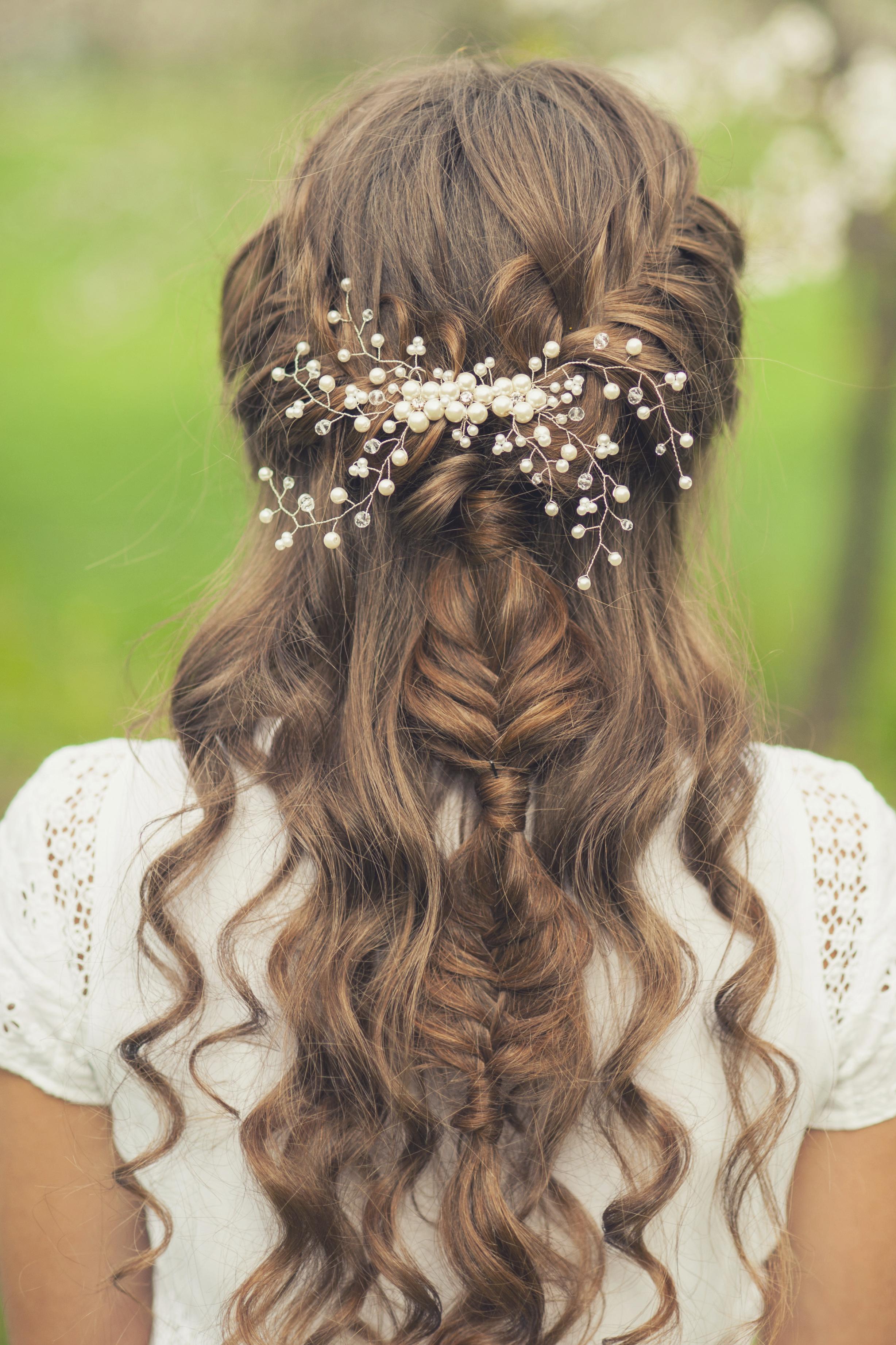 Красивые прически на косе