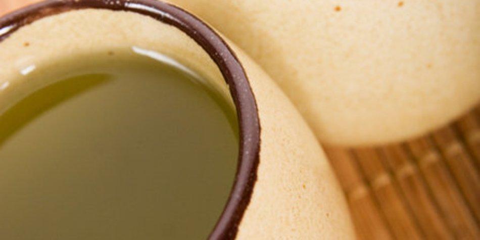 Matcha Tee zubereiten ohne Besen